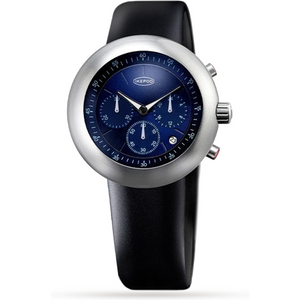Ikepod Chronopod Blue Suede C006 Si Lb Mens Watches
