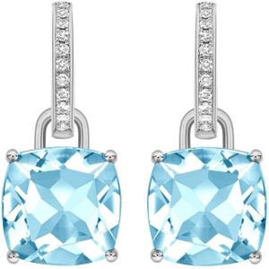 Kiki Mcdonough Kiki Classics 18ct White Gold, Cushion Cut ... Erdgm0728 Womens Jewellery
