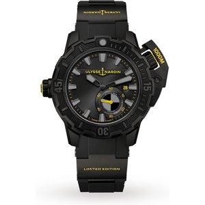 Ulysse Nardin Diver Deep Dive 46mm Limited Edition 3203-500le-3blackomw Mens Watches
