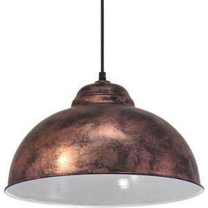 49248 Vintage Copper Hanging Ceiling Pendant Light Lighting