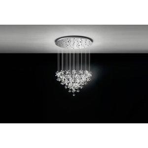 93661 Pianopoli Led Crystal Cluster Pendant Light Lighting
