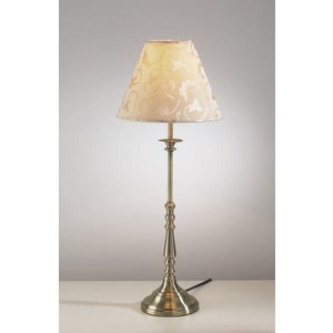 Ble4175 Blenheim Antique Brass Table Lamp With Shade Lighting