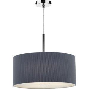 Dar Zar1739 Zaragoza 60cm Grey 3 Light Modern Pendant Light Lighting