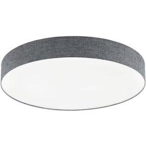 Eglo 97784 Romao Led Flush Ceiling Light In White And Grey - Dia: 760mm Lighting