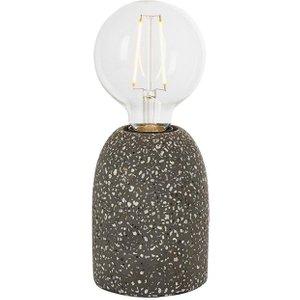 Endon 80633 Terrazzo 1 Light Table Lamp In Black Terrazzo Lighting