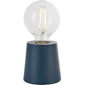 Endon 80642 Mono 1 Light Table Lamp In Matt Ink Blue Lighting