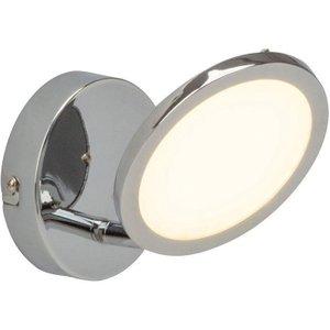 Endon G3051015 Pluto Semi Flush Ceiling Light In Chrome Plate And Opal Plastic Lighting