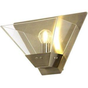 Ewen 1 Light Wall Light In Antique Brass Sh7113 Lighting