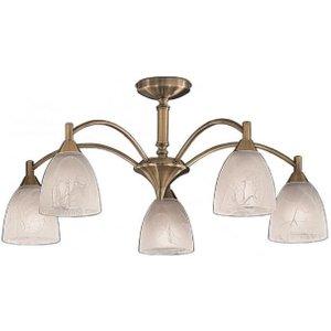 F2105/5 5 Light Bronze Semi-flush Ceiling Light Fl2105/5 Lighting