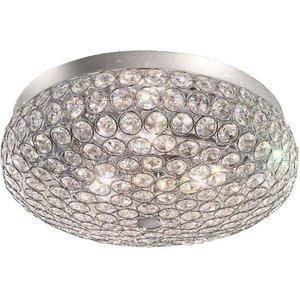 F2275/3 Milano 3 Light Chrome Flush Ceiling Light Fl2275/3 Lighting