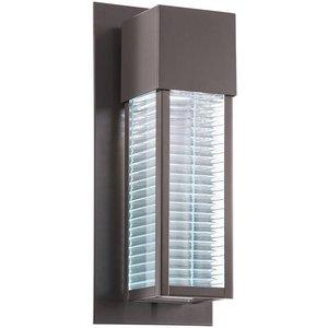 Kl/sorel2/m Led Sorel 1 Light Outdoor Led Wall Light In Architectural Bronze Lighting