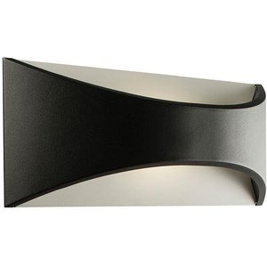 Saxby 61865 Vulcan Outdoor Large Wall Light In Black Paint Lighting