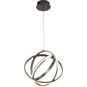 Searchlight 5031-3sn Magic Ceiling Globe Pendant Light In Satin Nickel Lighting