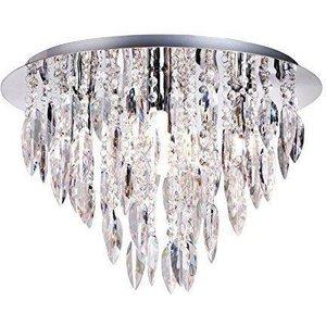 Willazzo 5 Light Round Chandelier Flush Ceiling Light W225rdpc Lighting