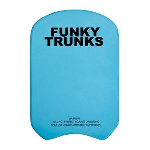 Funky Trunks Snorkel Kickboard Blue, Blue