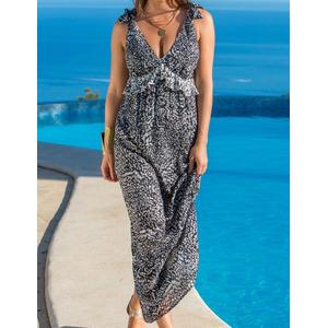 Pour Moi? Swimwear Pour Moi Mixology Maxi Dress Black, Black