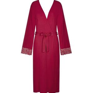 Triumph Lingerie Triumph Amourette Charm Long Robe Red, Red