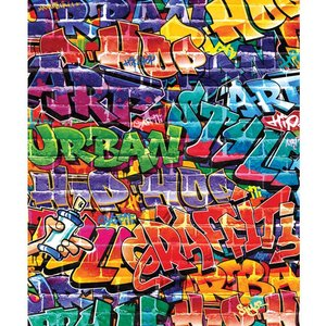Walltastic Graffiti Brick Wall Wallpaper Mural