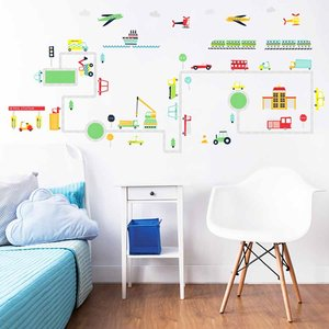 Walltastic Transport Wall Stickers