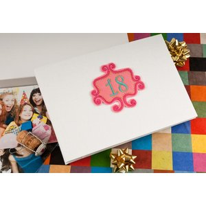 18th Birthday - Handmade Photo Album Birthday Gifts