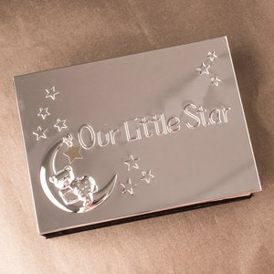 Engraved Photo Album - Our Little Star Personalised Gifts