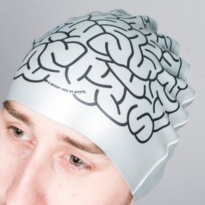 Get A Brain Swimming Cap Novelty Gifts