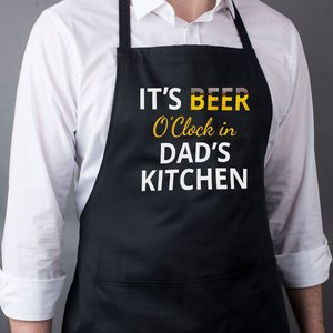 Personalised Apron - Beer O'clock Personalised Gifts