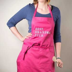 Personalised Apron - Best Ever Gifts