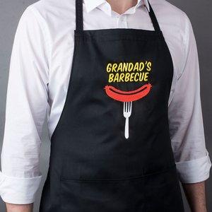 Personalised Apron - Sausage Print Gifts