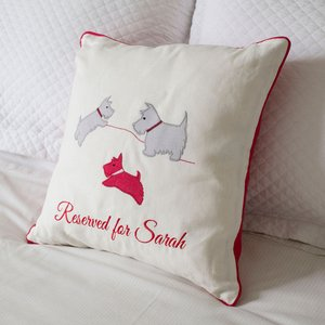 Personalised Beige Mabel Cushion Gifts