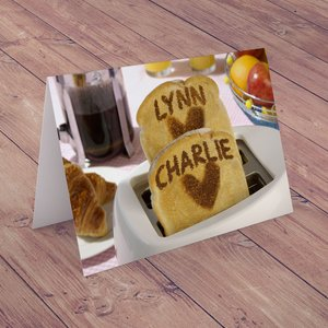 Personalised Card - Toaster Greeting Cards