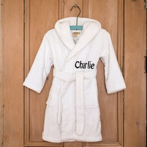 Personalised Children's Bath Robe Novelty Gifts