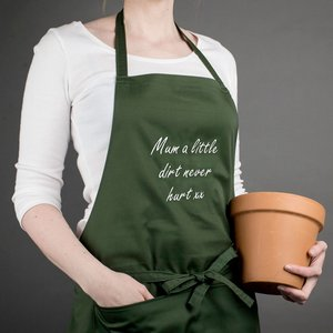 Personalised Gardening Apron - Your Words