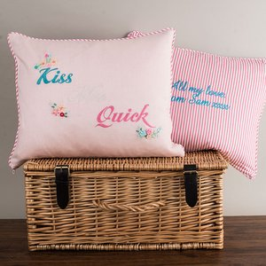 Personalised Kiss Me Quick Cushion Personalised Gifts