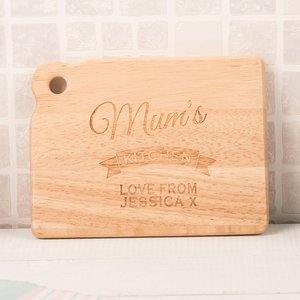 Personalised Mini Chopping Board - Any Name's Kitchen Gifts