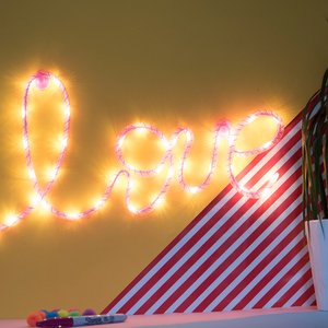 Pink Love Led Wall Light Gifts