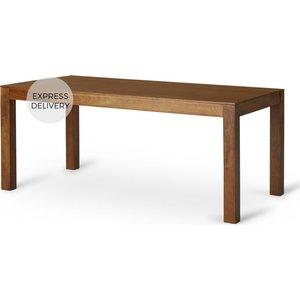 Made.com Aliyah 8 Seat Dining Table, Mango Wood Dark Wood, Dark wood