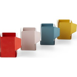 Made.com Cafe Light Set Of 4 Tealight Holders, Multi Multicoloured , Multicoloured