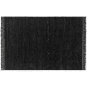 Made.com Celsi Wool Pile Rug, Large 160 X 230cm, Dark Charcoal Grey, Grey