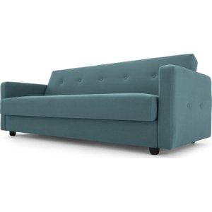 Made.com Chou Click Clack Sofa Bed With Storage, Sherbet Blue, Blue