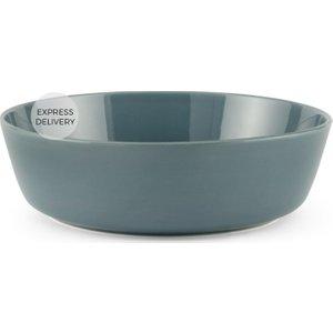 Made.com Deja Large Serving Bowl, Teal Grey , Grey