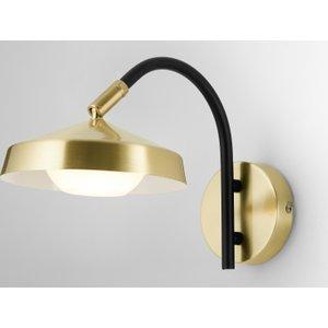 Made.com Garnaas Led Wall Lamp, Brass , Brass