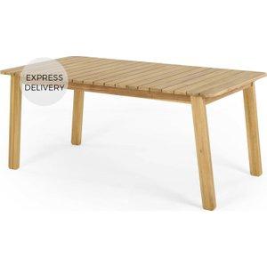 Made.com Jala Garden Dining Table, Acacia Wood Light Wood , Light wood