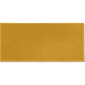 Made.com Laza Extra Long 100% Cotton Bathmat, 50x110cm,  Mustard Yellow , Yellow