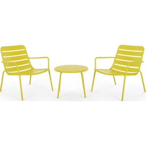 Made.com Made Essentials Tice Garden Apperitif Set, Chartreuse Yellow , Yellow