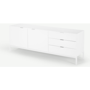 Made.com Marcell Wide Sideboard, White