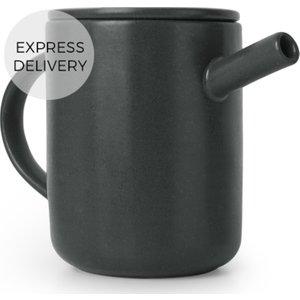 Made.com Osaka Large Tea Pot, Black , Black