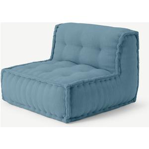 Sully Modular Floor Cushion, Citadel Blue Furniture, Blue