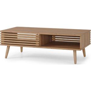 Made.com Tulma Storage Coffee Table, Oak Effect Light Wood, Light wood