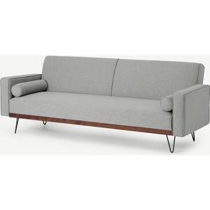 Made.com Warner Click Clack Sofa Bed, Moonlight Grey, Grey